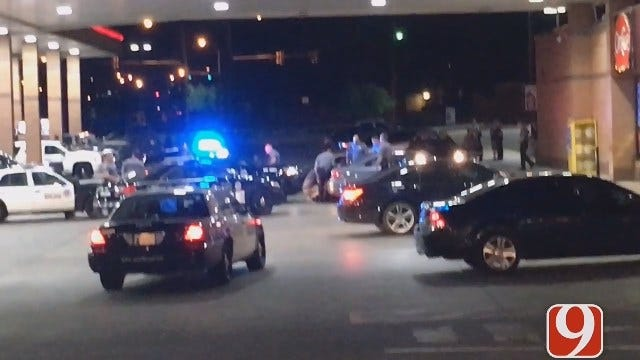Police Pursuit Ends At Metro OnCue Station