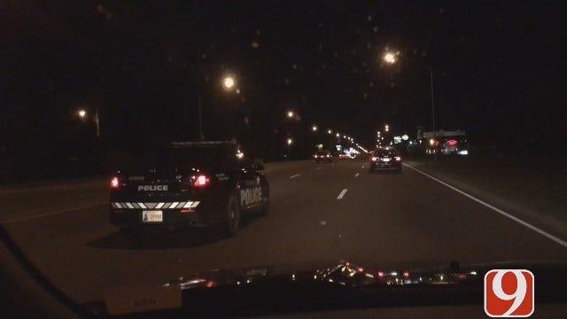 Police Pursue Driver Through OKC