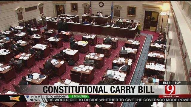 Bill Allowing Open Carry Without Training Passes Oklahoma Senate