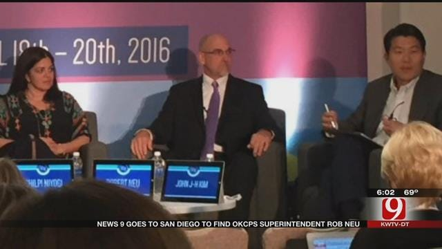 Embattled OKCPS Superintendent Rob Neu In San Diego
