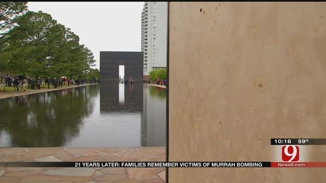 21 Years Later: Ceremony Held To Remember Victims Of Murrah Building Bombing