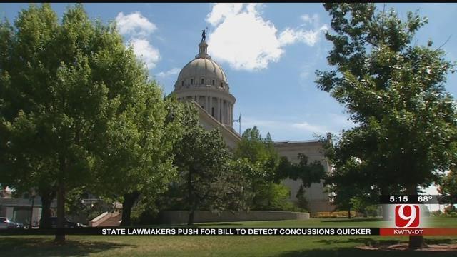 'Concussions' Bill Making Its Way Through Oklahoma Legislature