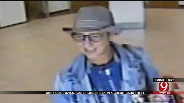 OKC Police Investigate Home Break-In, Credit Card Theft