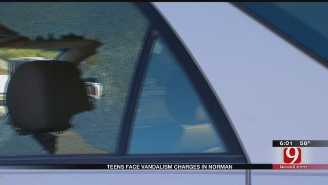 Teens Face Vandalism Charges In Norman