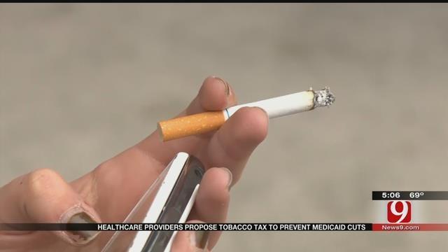 Healthcare Providers Propose Tobacco Tax To Prevent Medicaid Cuts