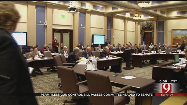 Permit-Less Gun Control Bill Passes Committee, Heads To Senate