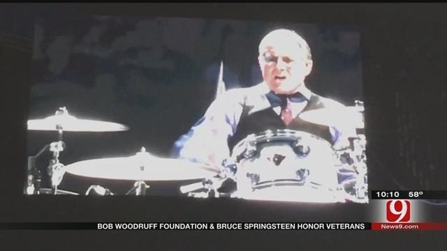 Veterans Honored At Bruce Springsteen Concert In OKC