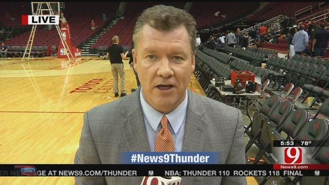 Harden Drops 41 As Thunder Fall To Rockets