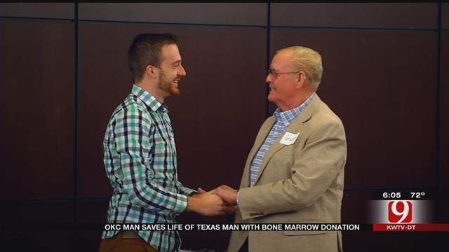 Bone Marrow Recipient Meets Donor In Tear-Filled Reunion