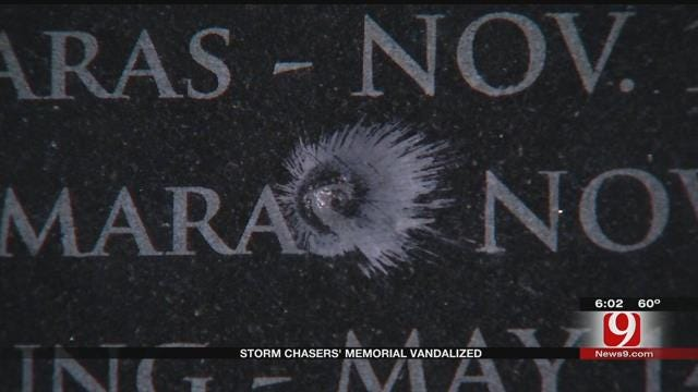 Authorities Investigate After Storm Chasers' Memorial Was Vandalized