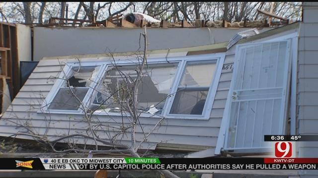 Cleanup Continues After Tornado Sweeps Through Tulsa Area