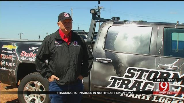 News 9 Storm Trackers Share Experience With First Tornado Of Season