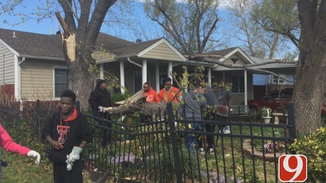 WEB EXTRA: Tornado Damage Extensive In North Tulsa Neighborhoods