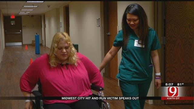 Midwest City Hit-And-Run Victim Speaks Out
