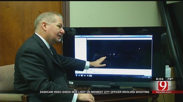 DA Releases Dash Cam Video In Deadly MWC Officer-Involved Shooting