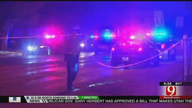 Man Hospitalized After Being Shot In Throat In SE OKC