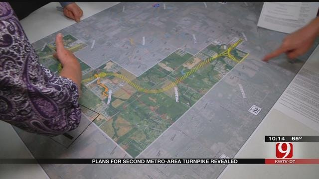 Plans For Second Metro-Area Turnpike Revealed