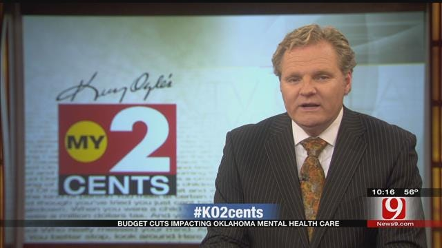 My 2 Cents: Budget Cuts Impacting Oklahoma Mental Health Care