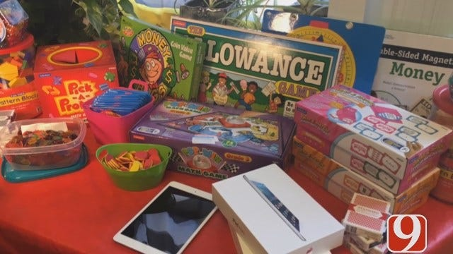 Several Games Donated To OKCPS To Help Kids Learn