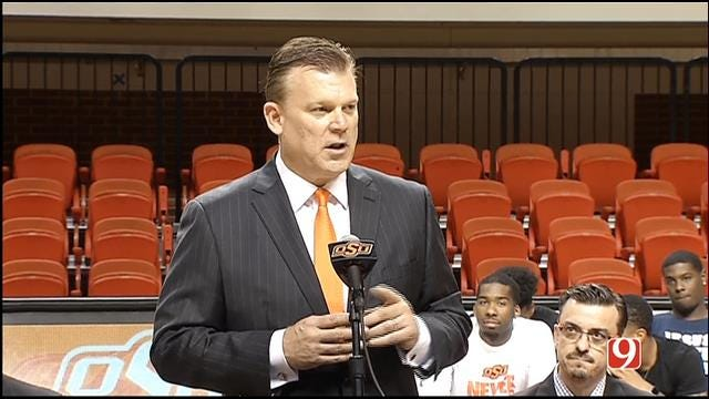 Brad Underwood Introduced As New Head Coach Of OSU Basketball