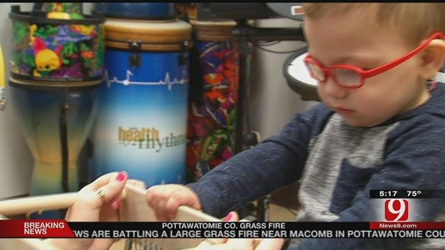 Musical Therapy Helping Oklahoma Toddler Heal