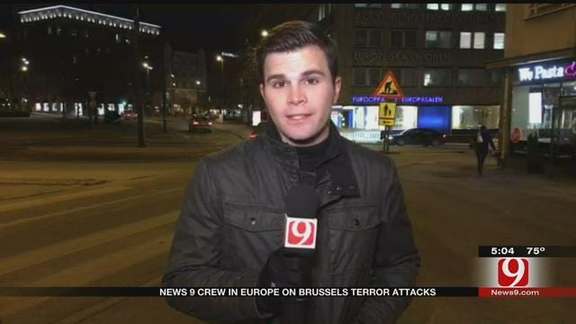 News 9 Crew In Europe Comments On Brussels Terror Attack