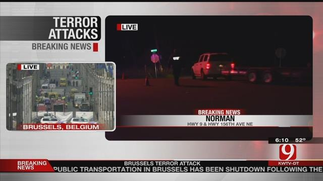 Four Dead After Two-Car Wreck In Norman