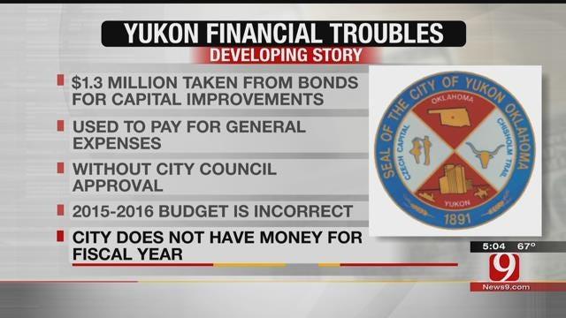 City Of Yukon Facing Budget Crisis