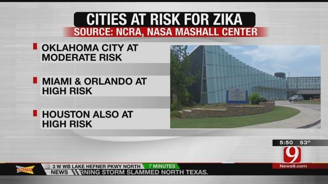 Health Officials: Zika Outbreak Unlikely In Oklahoma City