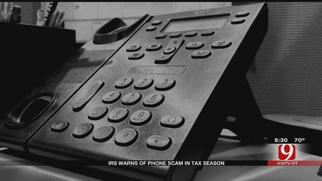 IRS Warns Of Phone Scams During Tax Season