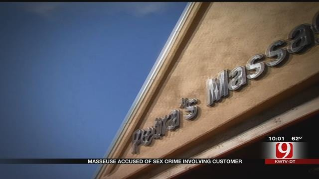 Massage Therapist Accused Of Sex Crime Involving Customer