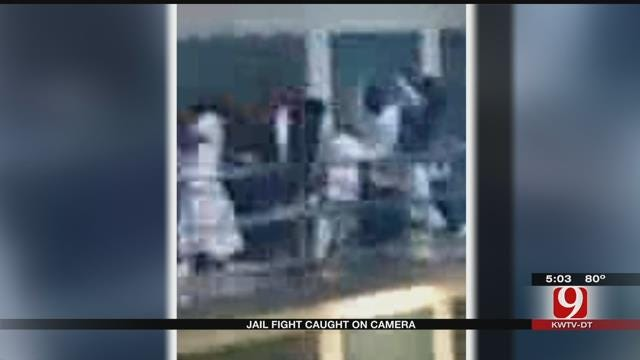 Oklahoma Inmate Records Cell Phone Video Of Man Tossed Over Balcony