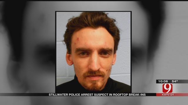 Stillwater Police Arrest Suspect In Rooftop Break-Ins
