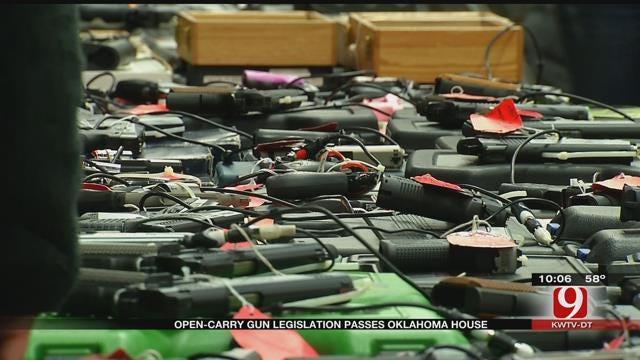 Open Carry Gun Legislation Passes Oklahoma House