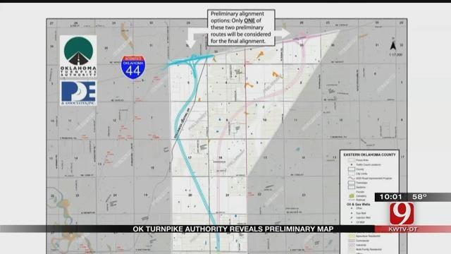 OTA Reveals Proposed Turnpike Map