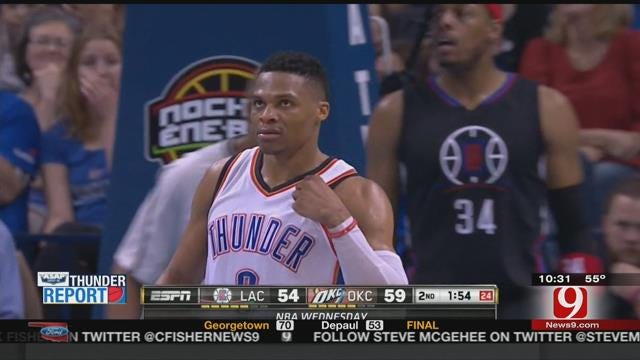 Thunder Report: Thunder Take Down Clippers