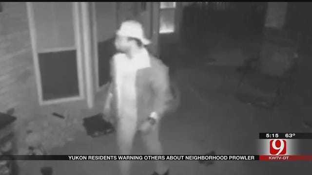 Yukon Residents Warning Others About Neighborhood Prowler