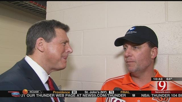 Talking OSU Football With Mike Gundy