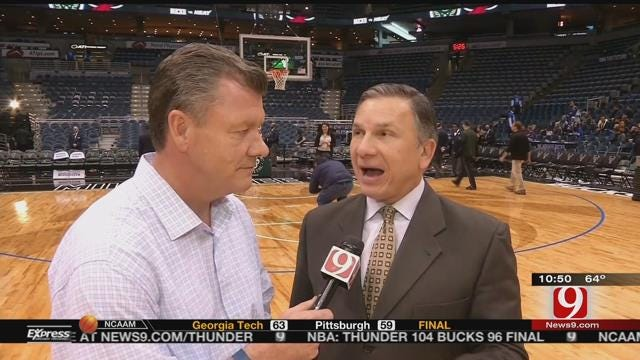Steve Talks Thunder With Matt Pinto 1-on-1