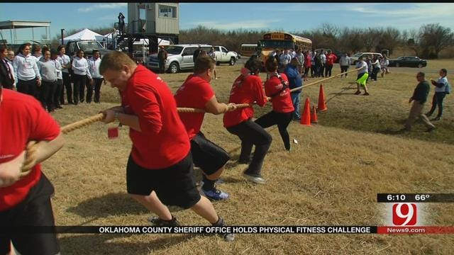 Criminal Justice Students Compete In OCSO's Physical Fitness Challenge