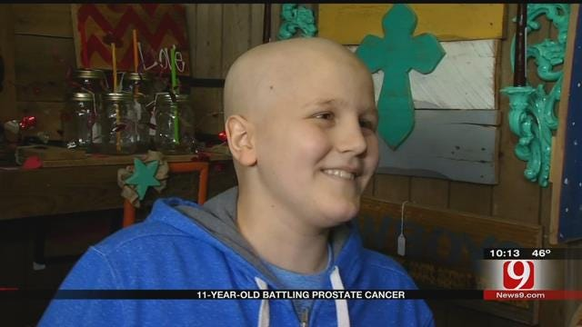 11-Year-Old Shawnee Boy Battling Rare Form Of Prostate Cancer