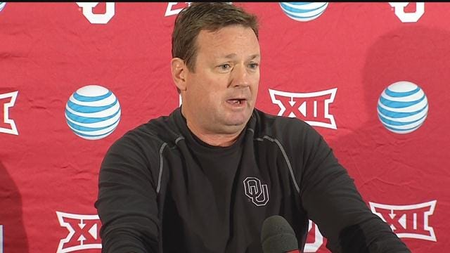 WATCH: Bob Stoops' Press Conference To Open Spring Practice