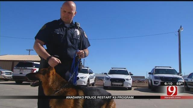 Anadarko Police Restart K-9 Program