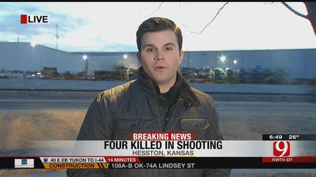 News 9 Reporter Justin Dougherty Covering Latest In Kansas Mass Shooting