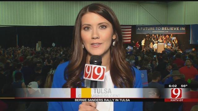 Presidential Candidate Bernie Sanders To Speak At Tulsa Rally