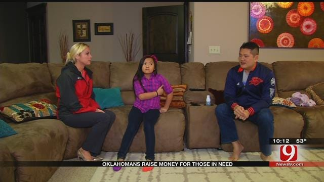 Oklahoma Family Starts Charity After Daughter's Battle Against Illness