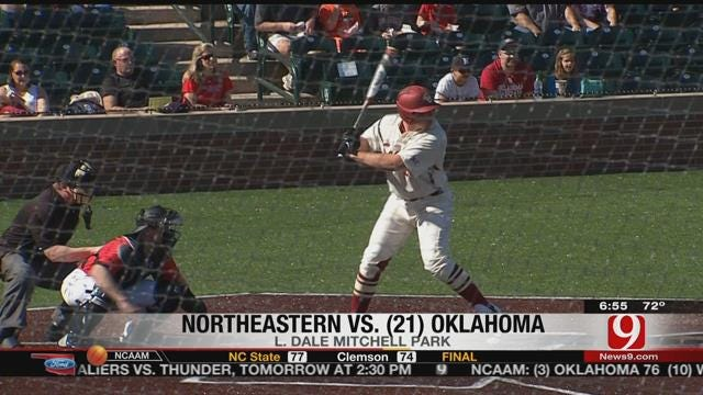 OU Baseball Splits Two On Saturday
