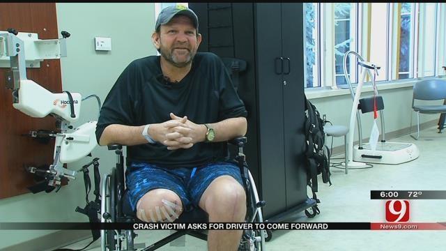 OKC Crash Victim Asks For Driver To Come Forward
