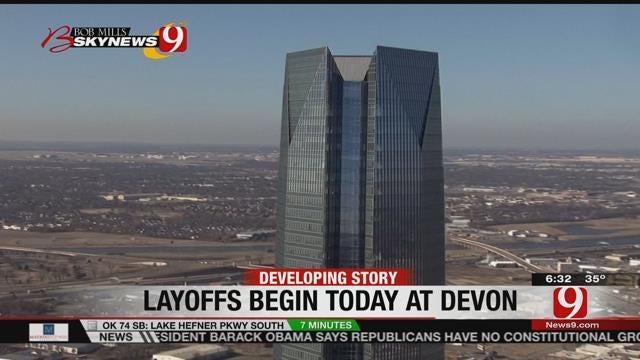 Devon Energy To Begin Layoffs Wednesday