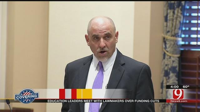 Oklahoma Superintendents: No More Funding Cuts To Schools